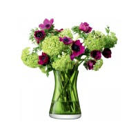 Lọ hoa Flower Colour Tied Bouquet H20cm LSA (xanh lime) - Anh