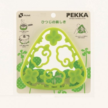 Tấm lót nồi hoa xanh Richell - Nhật Bản