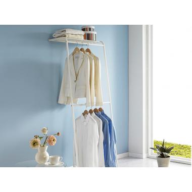 Giá treo quần áo 2 tầng sát tường Living Star - Hàn Quốc