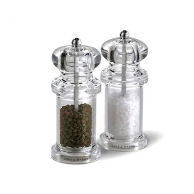 Bộ 2 dụng cụ xay tiêu muối 50518 PM/SM Cole & Mason - Anh