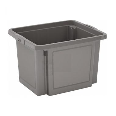 Hộp nhựa chứa đồ H-Box S - xám KIS - Ý
