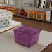 Hộp nhựa chứa đồ Square Box - tím KIS - Ý