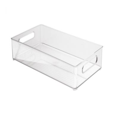 Khay để đồ tiện ích nhiều ngăn 12 x 4 trong suốt Interdesign - Mỹ