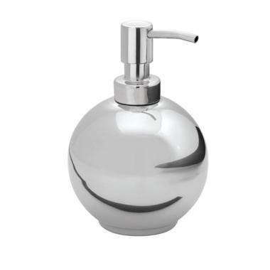 Bình đựng dầu gội, sữa tắm tròn Forma SS Interdesign - Mỹ