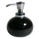 Bình đựng dầu gội, sữa tắm York (tròn, đen) Interdesign - Mỹ