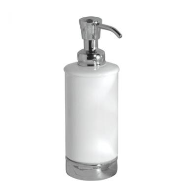 Bình đựng dầu gội, sữa tắm York (white) Interdesign - Mỹ