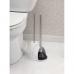Bộ chổi cọ toa lét & bơm thụt BW (trắng) Interdesign - Mỹ