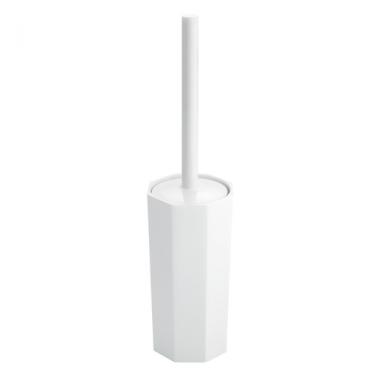 Bộ chổi cọ toa lét Matrix trắng Interdesign - Mỹ