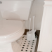 Bộ chổi cọ Toilet & kệ đỡ Casabella Mỹ ML-HK058(W)