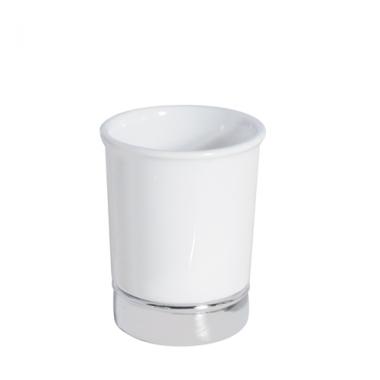 Cốc đánh răng York (white) Interdesign - Mỹ
