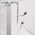 Móc treo quần áo đôi gài cánh cửa Oribinni Interdesign - Mỹ