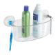 Khay nhựa để đồ nhà tắm mút dính PL Interdesign - Mỹ