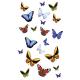 Tấm dán nhà tắm họa tiết Butterfly Kleine Wolke- Đức