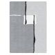 Thảm nhà tắm màu platin 65 x 105 cm Malaga Kleine Wolke - Đức