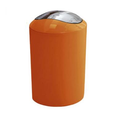 Thùng rác Glossy màu cam Kleine Wolke - Đức