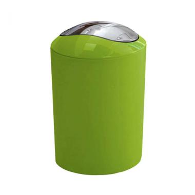 Thùng rác Glossy màu xanh lá Kleine Wolke - Đức