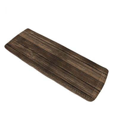 Thảm thấm nước 36x92cm Wood Kleine Wolke (màu gỗ) - Đức