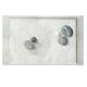 Khay nhựa melamin chữ nhật họa tiết đá Nuova - Ý