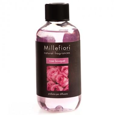 Lọ bổ sung tinh dầu khuyếch tán Rose Bouquet Millefiori - Ý
