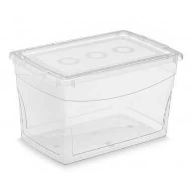Hộp đựng đồ Omni Box 16L- trong suốt KIS-Ca