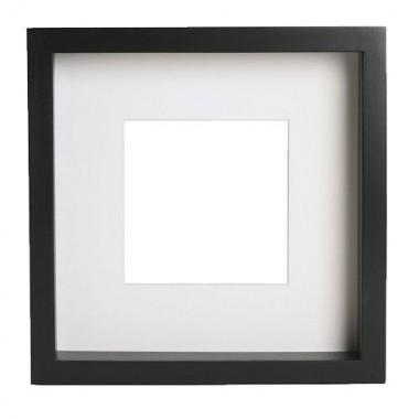 Khung tranh 23*23*4.5cm RIBBA(đen)