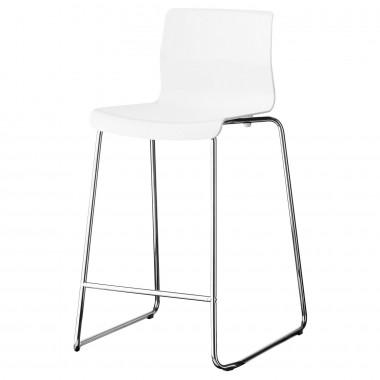 Ghế GLENN  (crom,trắng)