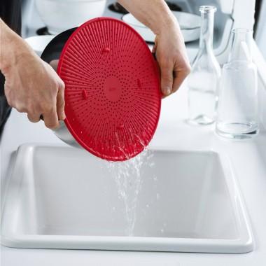 Dụng cụ chắt nước tròn silicon 0996001 Trudeau - Canada