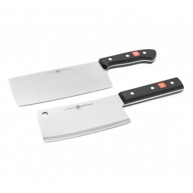Bộ dao chặt 16cm và dao bếp Á 18cm 9248 Gourmet Wusthof