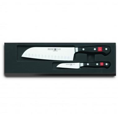 Bộ dao bếp Santoku và dao gọt thép rèn 9280 Classic Wusthof