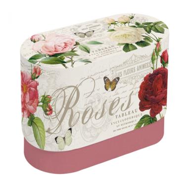 Bộ 02 cốc sứ họa tiết Rose Nuova - Ý