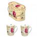 Bộ cốc sứ đôi RED 300ml Nuova - Ý