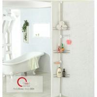 Giá để góc nhà tắm 3 tầng Goodsense HÀN QUỐC