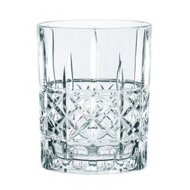 Ly whisky pha lê ĐK 8.2 cm (345ml) 96092 Diamond Highland Nachtmann - Đức